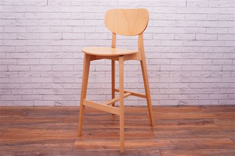 Wooden High Stool Office Resale Allermuir Jaicer Wooden High Stool