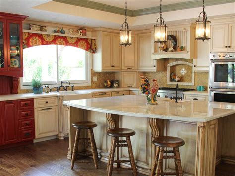 country kitchen furniture country kitchen with and white cabinets hgtv