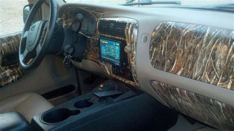 Camo Truck Interior by Hydro Dipped Emblem Ford F150 Forum Community Of Ford