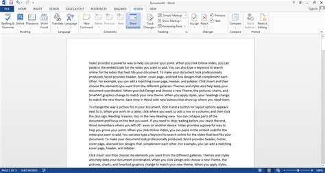 word 2013 screenshots