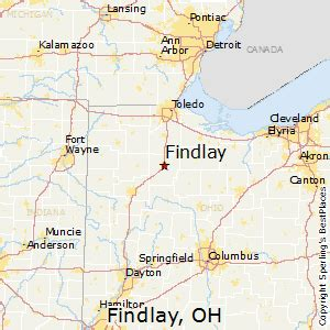 Findlay Ohio Map by Best Places To Live In Findlay Ohio