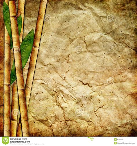 Bamboo Paper - bamboo paper stock photo image 6226850