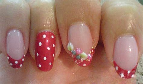 07 Strawberry Milkshake Nail Bpom 10ml 9 strawberry nail designs styles at