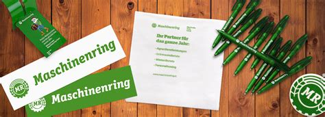 Aufkleber Maschinenring by Werbemittel Mr Office Maschinenring
