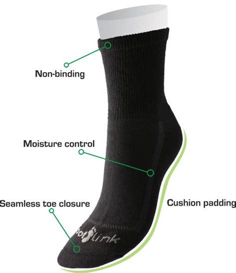 comfort seam socks footlink seamless cotton socks