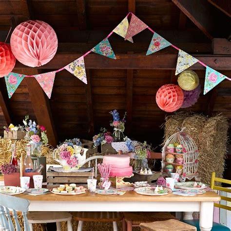 Hochzeitseinladung Wimpelkette by Girlande Wimpelkette Quot Bl 252 Ten Quot Partydekokoration F 252 R