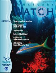Sanctuary Hill Bay Mystery sanctuary newsletter archive 2003 national marine
