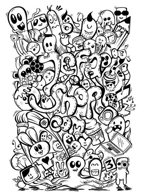 doodle log on small jefashop doddle nocolor by asepphotoshoper on