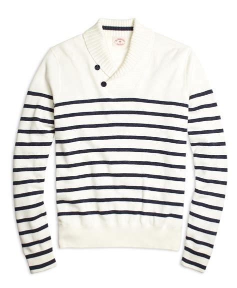 Berkualitas Prewalker Coastal Stripe Ctr lyst brothers nautical stripe shawl collar