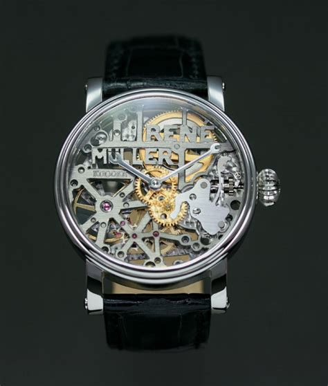 Handcrafted Watches - technicus kudoke the master of skeleton watches
