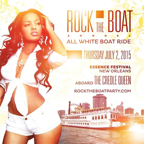 rock the boat white party rock the boat 2015 all white boat ride party during new