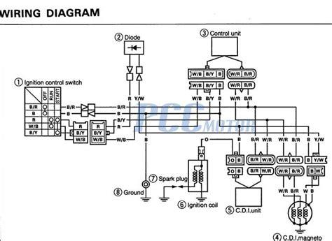 yamaha dt3 250 wiring diagram suzuki quadrunner 160 parts