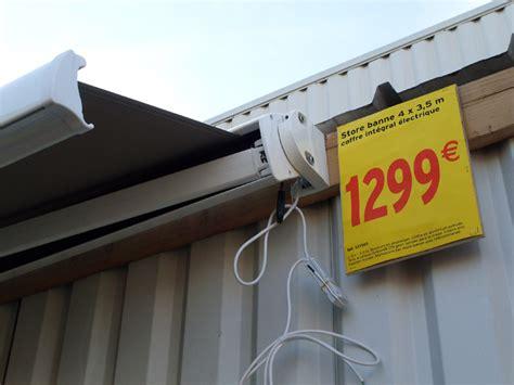 store exterieur castorama 2368 notice mode d emploi du store banne terrasse soltera de