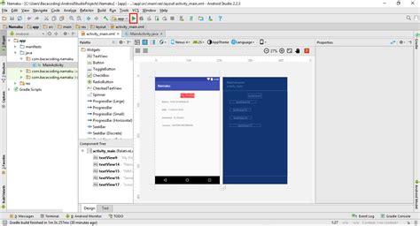 buat aplikasi sederhana android studio bacacoding