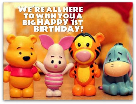 Happy Birthday Wishes For A 1 Year 1st Birthday Wishes Birthday Messages For 1 Year Olds