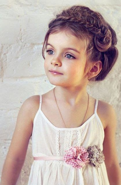 girlish hair styles images 21 super cute flower girl hairstyle ideas to make