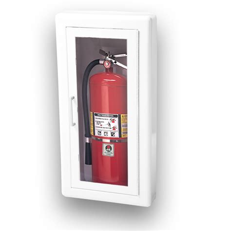 semi recessed fire extinguisher cabinet jl ambassador 1017f10 semi recessed 10 lbs fire