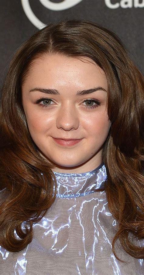 game of thrones actress name maisie williams imdb