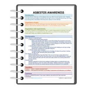 Asbestos Awareness Certificate Template Tool Box Talk For Asbestos Awareness Free Darley Pcm
