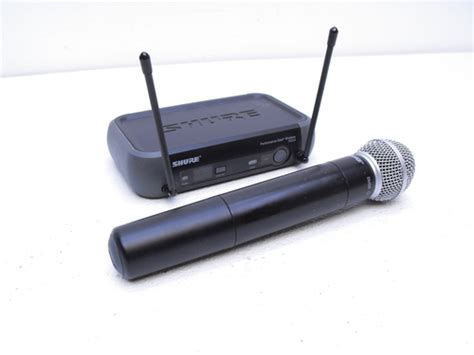 New Mic Wireless Shure T 42 Handheld shure pgx wireless microphone system with sm58 handheld