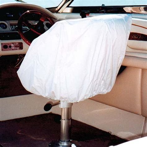 boat helm covers taylor made marine boat helm bucket seat white vinyl