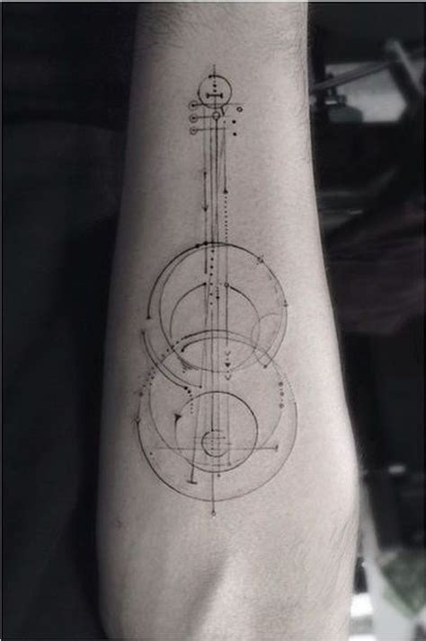 guitar music tattoo designs 95 best guitar tattoos images on guitar
