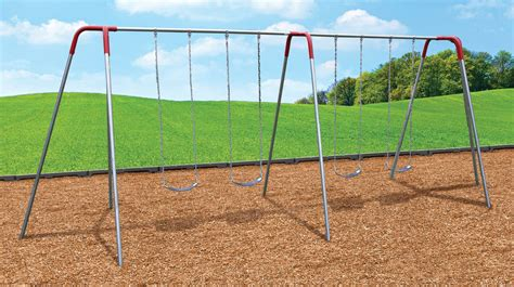 Playground Swing Sets by Deluxe Tripod Swing Sets Play With A Purpose