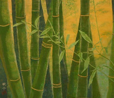 bamboo painting by junko niino