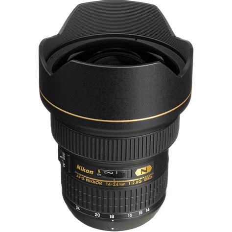 nikon af s nikkor 14 24mm f 2 8g ed lens 2163 b h photo