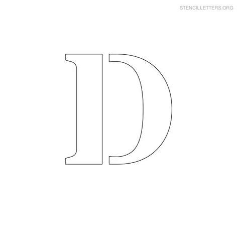 printable letter d stencil stencil letters d printable free d stencils stencil