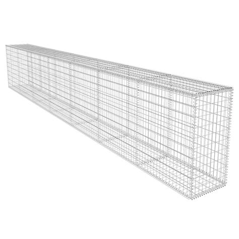 matratze 50 x 100 vidaxl co uk gabion wall with cover 600 x 50 x 100 cm