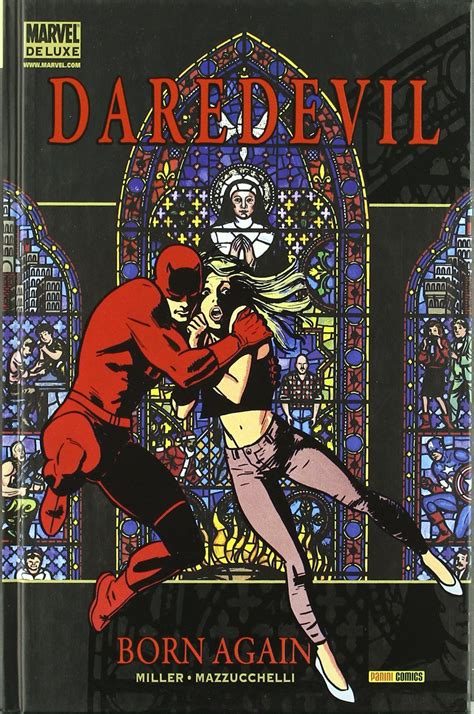 libro daredevil by frank miller daredevil born again amazon es frank miller david mazzucchelli libros comics
