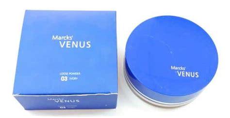 Bedak Venus Marcks 10 merk bedak untuk kulit berminyak yang tahan lama