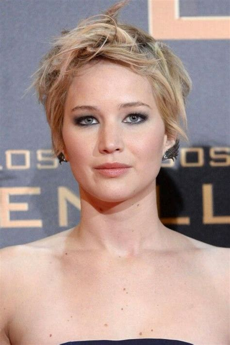chairstyles0fftheface jennifer lawrence short hair 2013