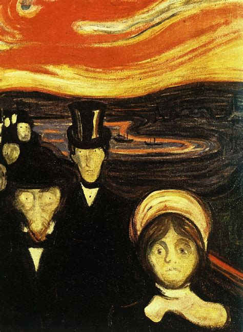 E Painting Meaning by Two Edward Munch