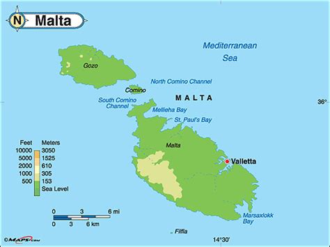 physical map of malta physical map of malta get domain pictures