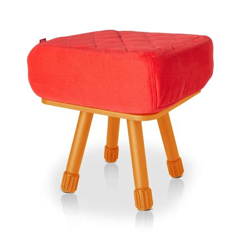 Orange Stool by Fatboy 174 Krukski Stool Orange
