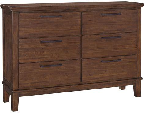 ralene medium brown dresser from coleman furniture