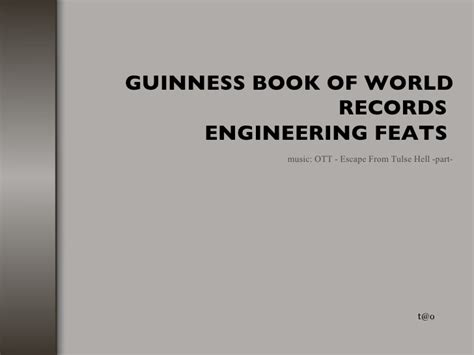 guinness book of world records pictures guinness book of world records engineering creations