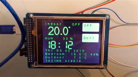diy wireless thermostat build yourself a wifi touch screen thermostat with the