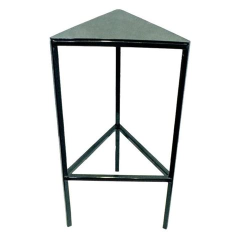 Triangle End Tables by Custom Triangle Side Table 2016 At 1stdibs