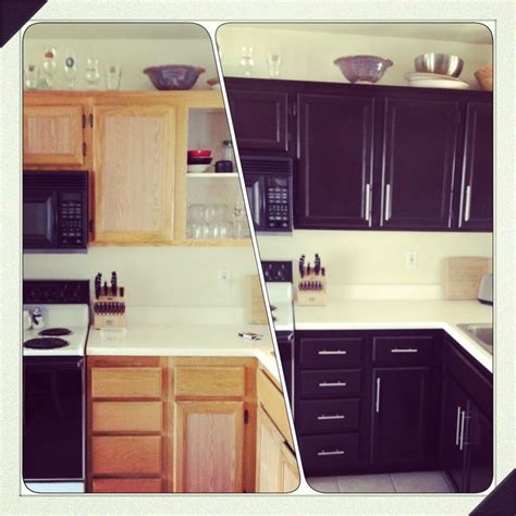 Kitchen Cupboard Makeover Ideas by Diy Kitchen Cabinet Makeover Home Decor Pinterest To