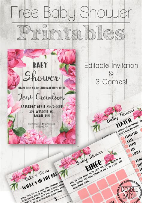 Baby Shower Free Printables by Free Baby Shower Printables Uplifting