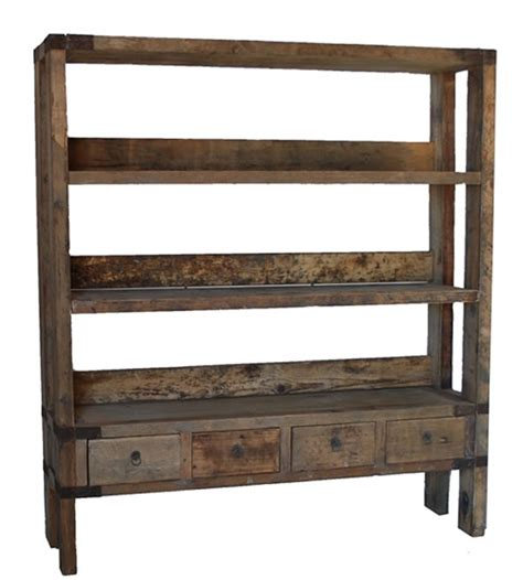 Shabby Bookcase Drawers At The Bottom Store Your Bookmarks Homestead