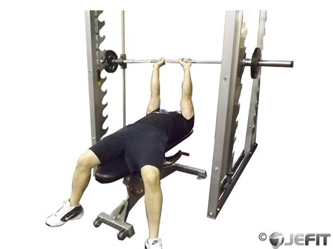 bench press with smith machine smith machine close grip bench press exercise database