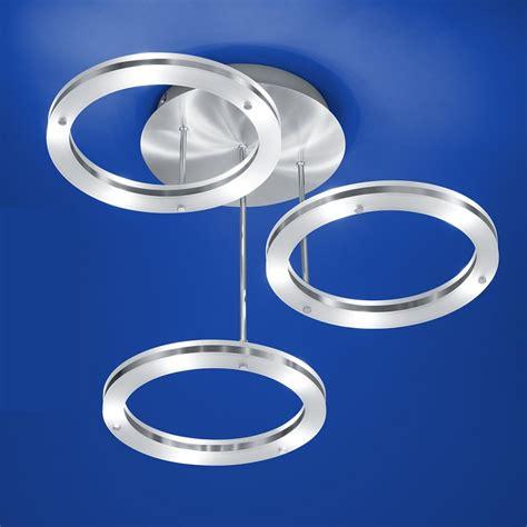 leuchten len shop b leuchten led deckenleuchte mica 3er ringe 70293 3 92