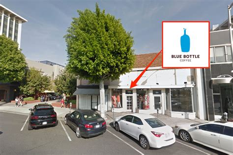 google beverly hills blue bottle coffee blows into beverly hills next eater la