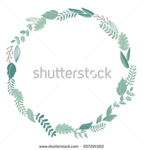 circle floral frame stock images royalty free images