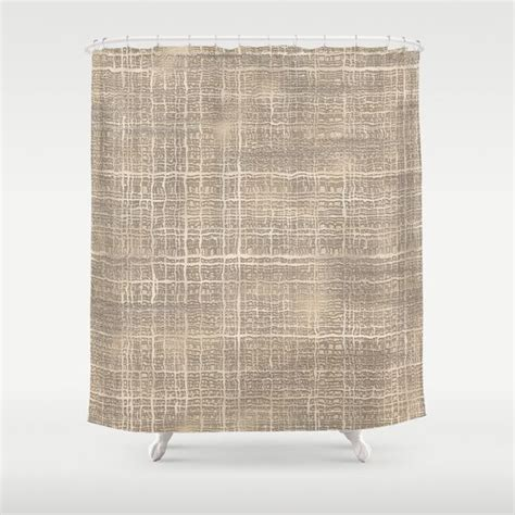 burlap chevron curtains 16 best images about burlap shower curtain designs on
