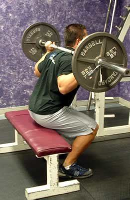 box squat bench exercise of the week barbell squats